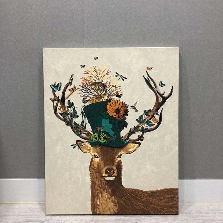 꽃사슴 인스타
